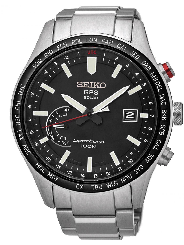 Seiko Sportura Gps Solar Mens Watch Ssf003j1 Uhrcenter