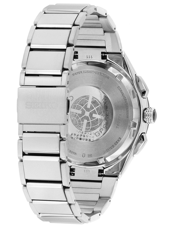bd7320307 ... Seiko SSE129J1 Astron GPS Solar Titanium Chronograph Mens Watch Image 3  ...