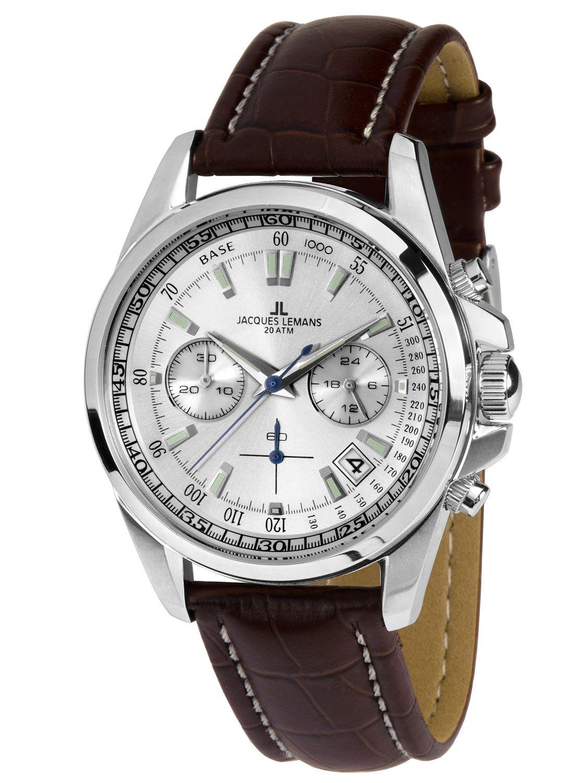 7a2ef17cffb439 Jacques Lemans 1-1830B Mens Watch Chronograph Liverpool Image 1 ...