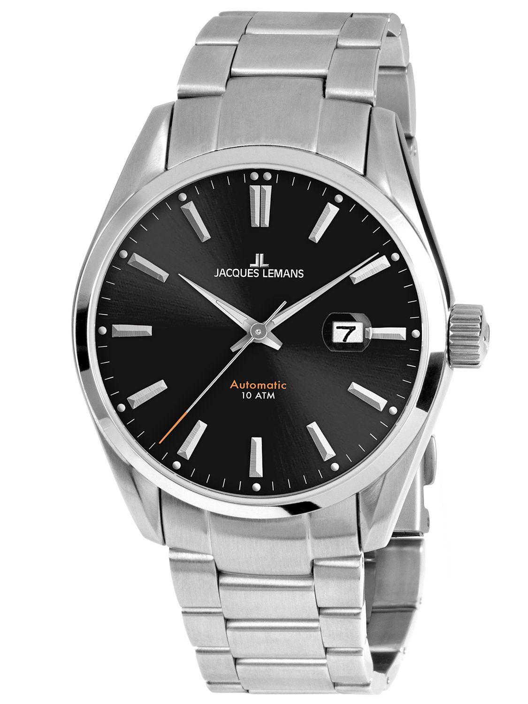 87863b0416f Jacques Lemans 1-1846D Mens Automatic Watch Derby Image 1 ...