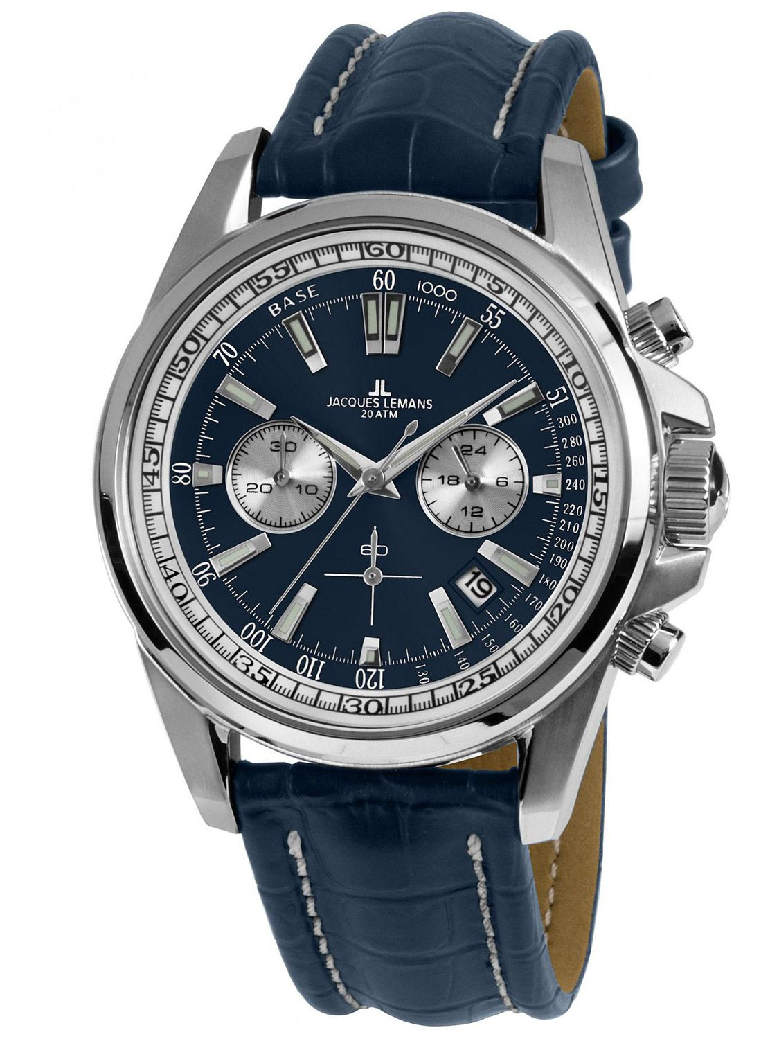 d88a7fc1beee7d Jacques Lemans 1-1117.1VN Mens Watch Chronograph Liverpool Image 1 ...