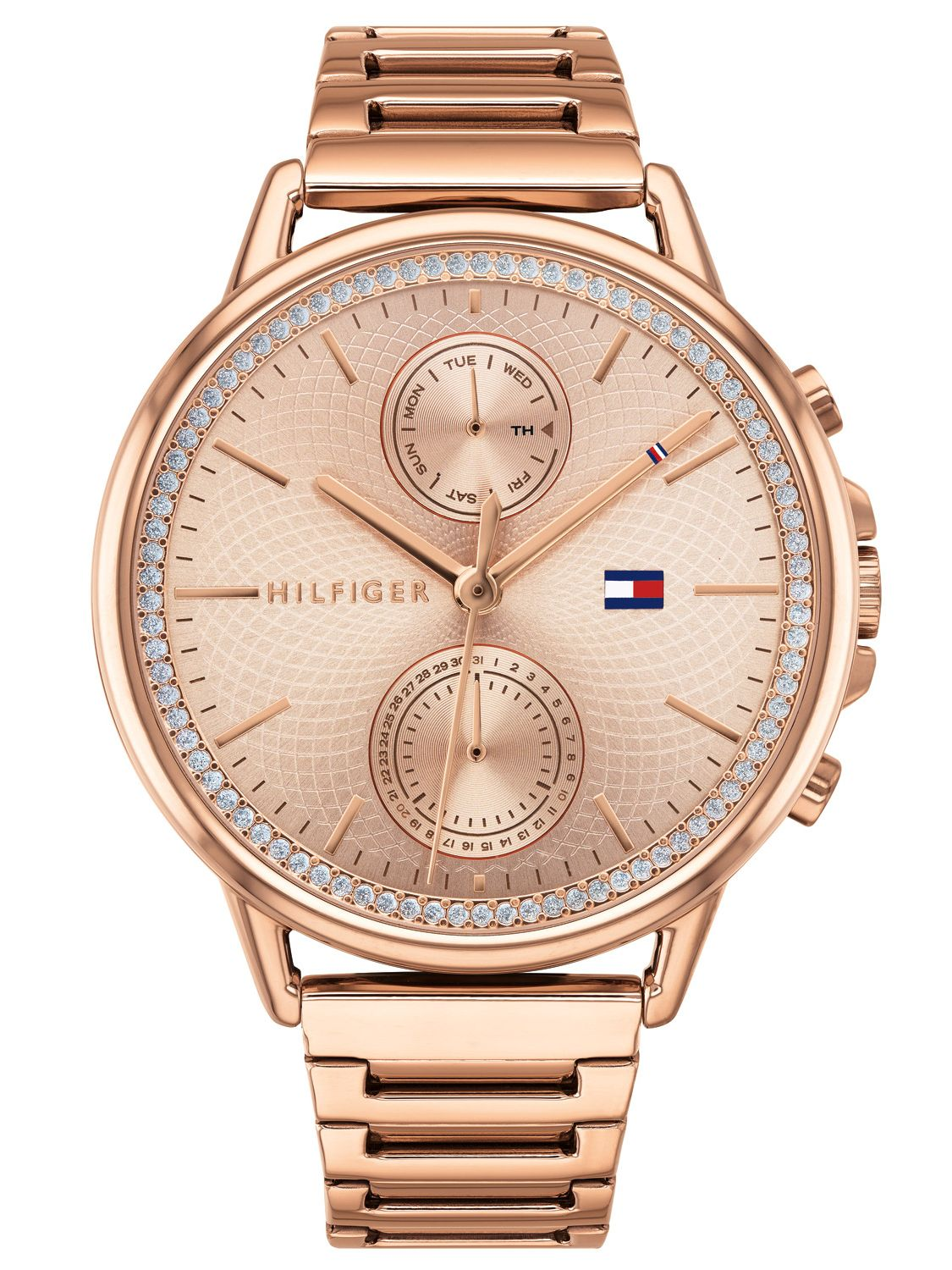 134532fed7c1 Tommy Hilfiger 1781915 Ladies  Watch with Multifunction Carly Image ...