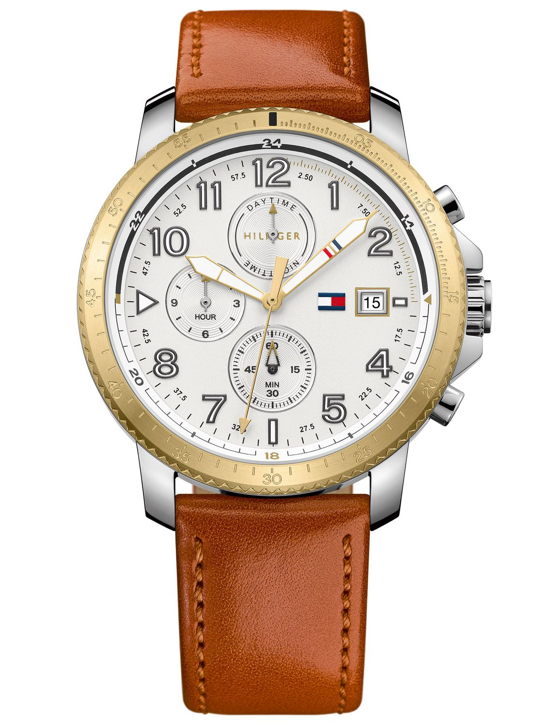 7d0e41bc Tommy Hilfiger 1791363 Dual-Time Mens Watch Travis Image 1 ...