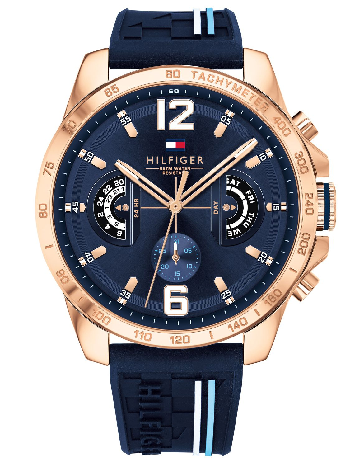Tommy Hilfiger Multifunction Mens Watch Decker 1791474