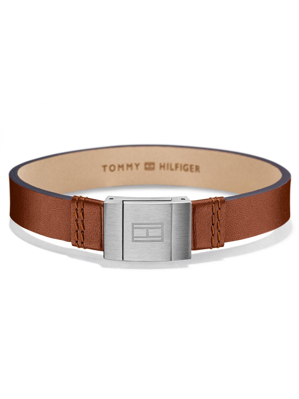 tommy hilfiger herren leder armband casual braun 2700949. Black Bedroom Furniture Sets. Home Design Ideas