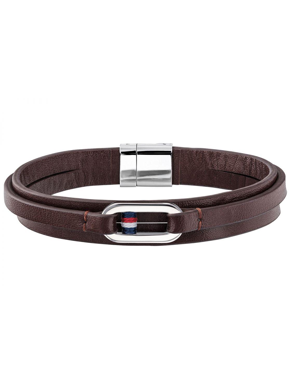 tommy hilfiger leder herren armband braun 2790027. Black Bedroom Furniture Sets. Home Design Ideas