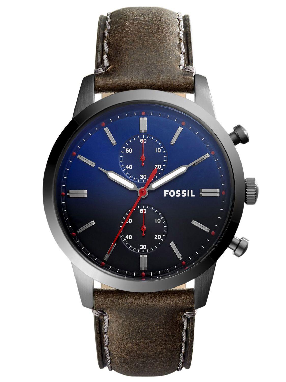 Fossil Mens Watch Chronograph Townsman Fs5378 Uhrcenter