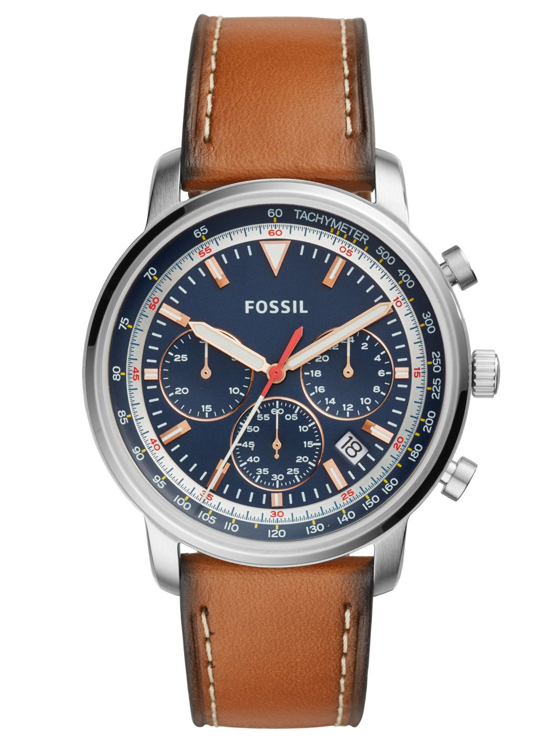 81535bbce Fossil FS5414 Mens Wrist Watch Chronograph Goodwin Image 1 ...
