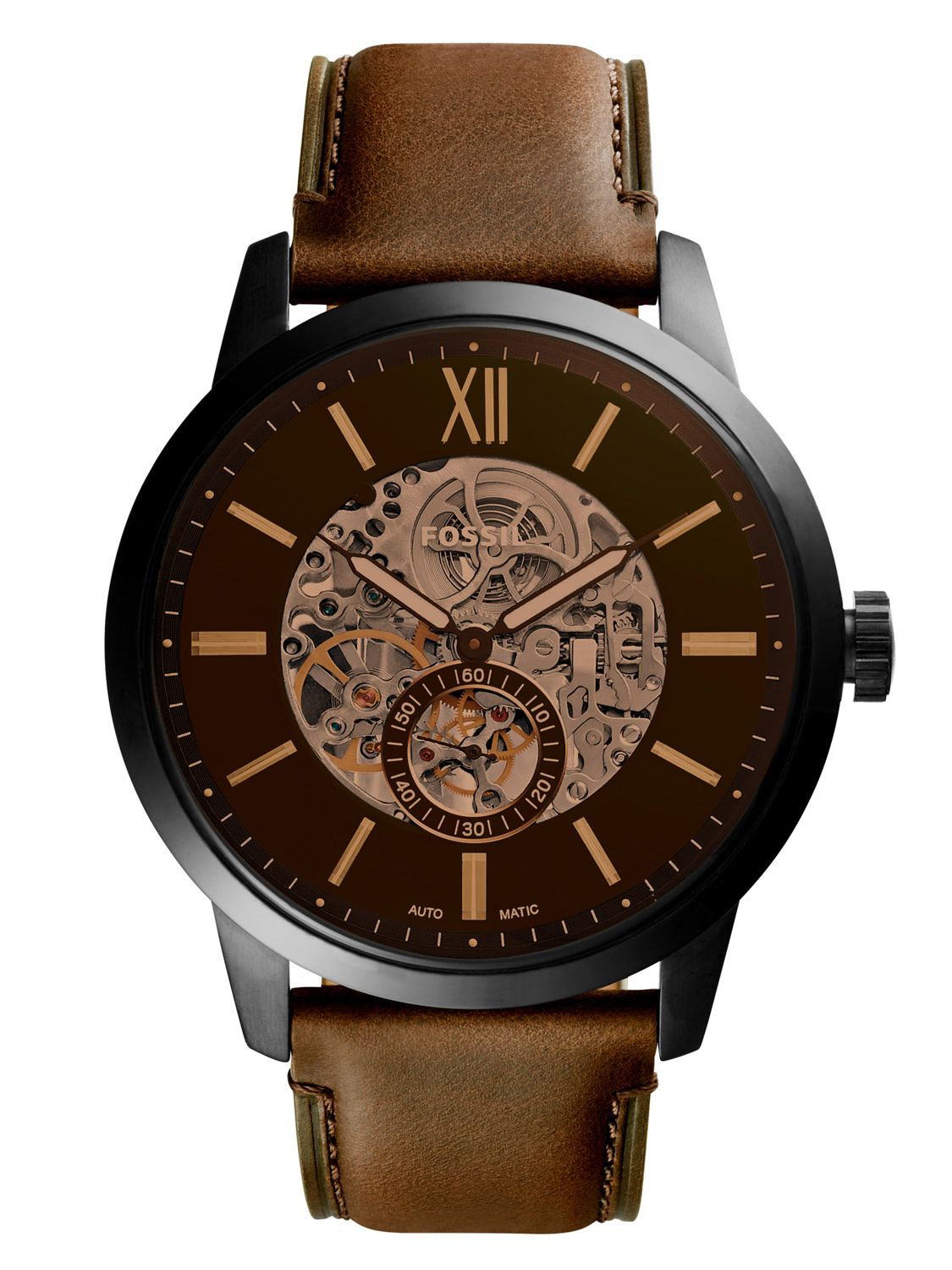 f5e104266 Fossil ME3155 Mens Automatic Watch Townsman Image 1 ...