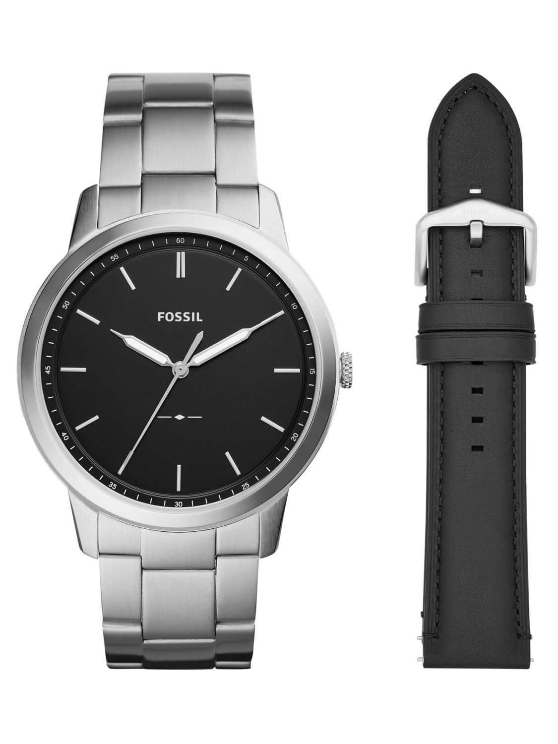 09f419370 Fossil FS5451SET Men's Watch with Replacement Strap The Minimalist Image ...