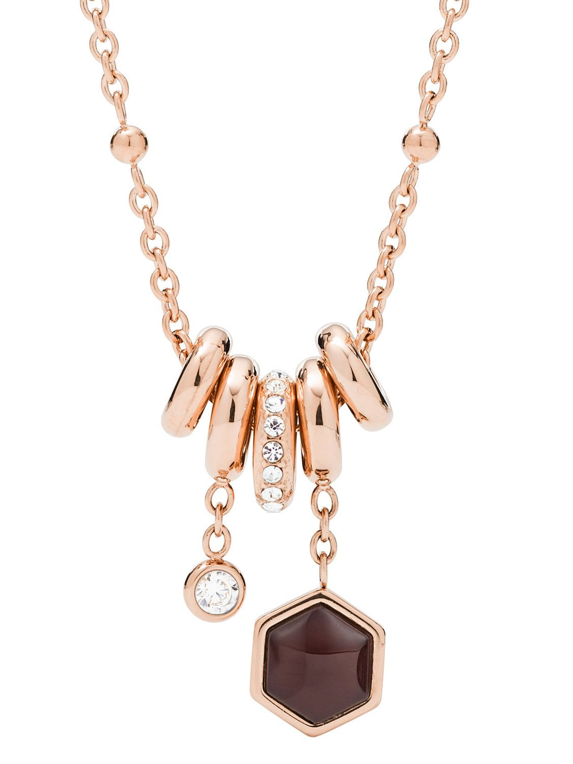 a4ef26a0730 Fossil JF03063791 Ladies´ Necklace Classics Image 1 ...