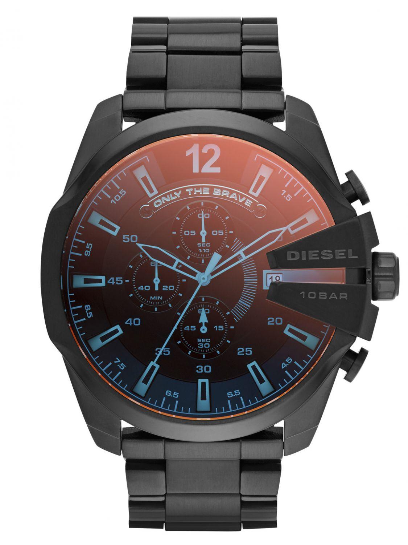 22ddc67afa2f DIESEL Mega Chief Chronograph Mens Watch DZ4318 • uhrcenter