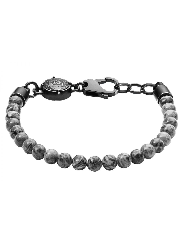 DIESEL Beaded Studs Mens Bracelet DX1015001 • uhrcenter de2ccc0606dc