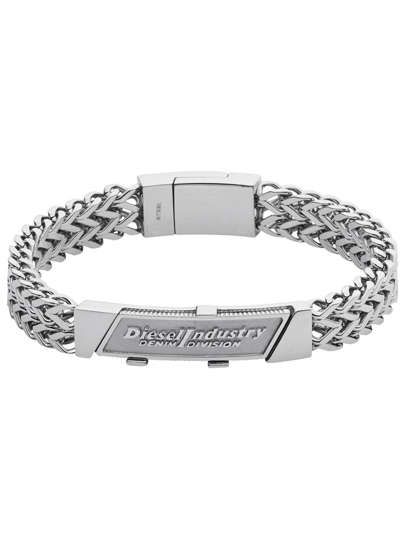 DIESEL Mens Bracelet Tabbed Coin DX1033040 • uhrcenter 1d44b0afce99
