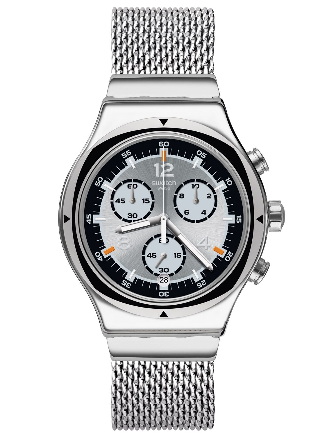 SWATCH Men s Watch Chronograph TV Time 20.5 cm YVS453MB c63870834a3