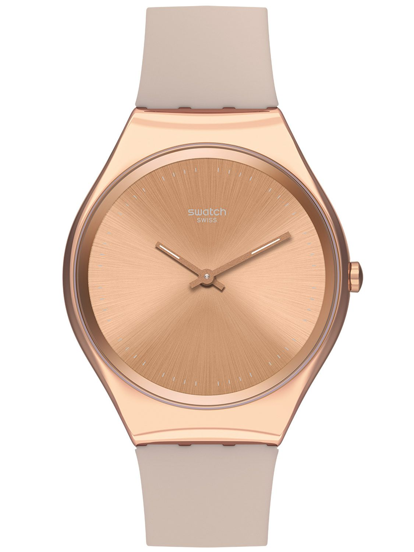 Swatch New Skin Small Skincarat Svok100m Damenarmbanduhr Swiss Made Armbanduhren