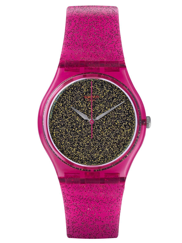 f2f7b530e91f5c Swatch GP149 Nuit Rose Ladies Watch Image 1 ...