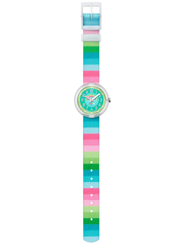 Flik Flak Stripy Streams Armbanduhr Für Mädchen Fpnp014