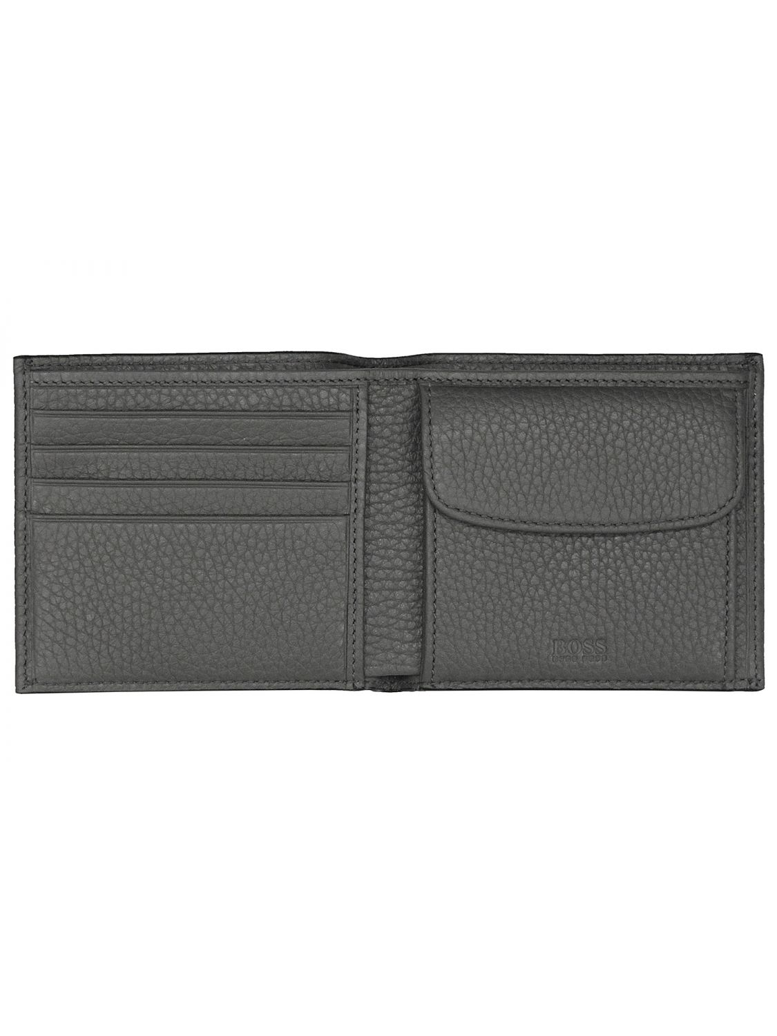 BOSS 50390403 Mens Wallet Crosstown Medium Grey • uhrcenter 605442807b