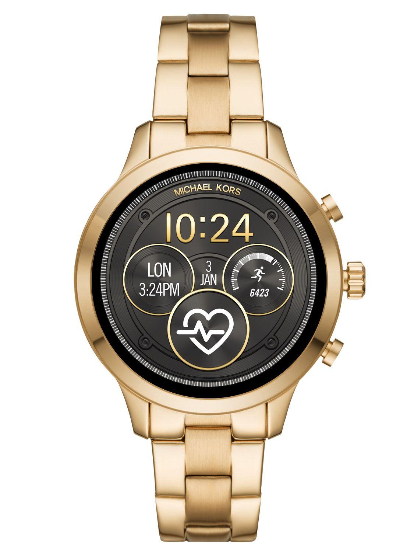 26e816ad8 Michael Kors Access MKT5045 Ladies' Smartwatch Runway Gold Tone