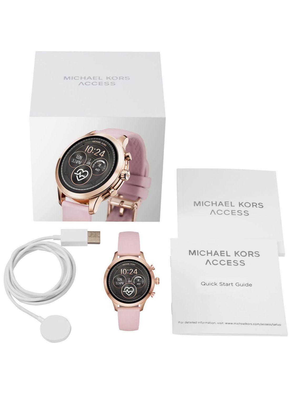 ... Michael Kors Access MKT5048 Ladies  Smartwatch Runway Rose Image 4 68a2f6e5723