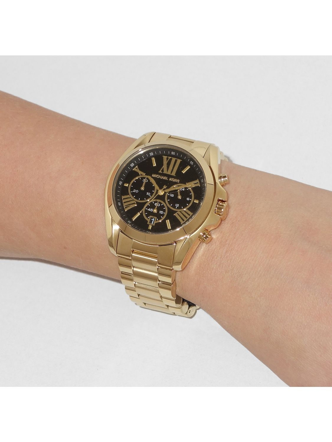 52a429df4 ... Michael Kors MK5739 Bradshaw Chronograph Ladies Watch Image 4 ...