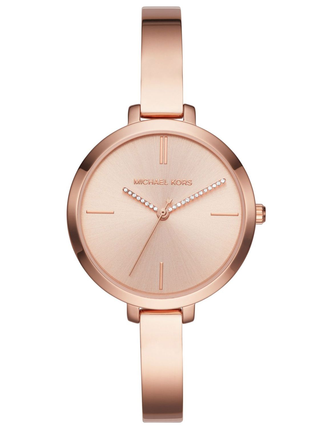 MICHAEL KORS Ladies Watch Jaryn Rose Gold Tone MK3735