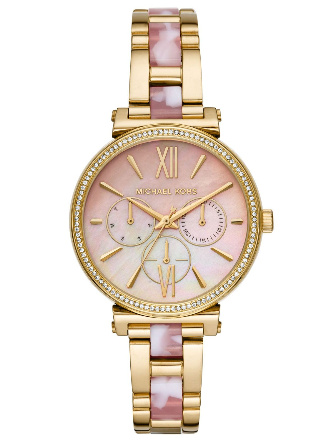 09ab96f7faa84 Michael Kors MK4344 Ladies´ Watch Multifunction Sofie Image 1 ...