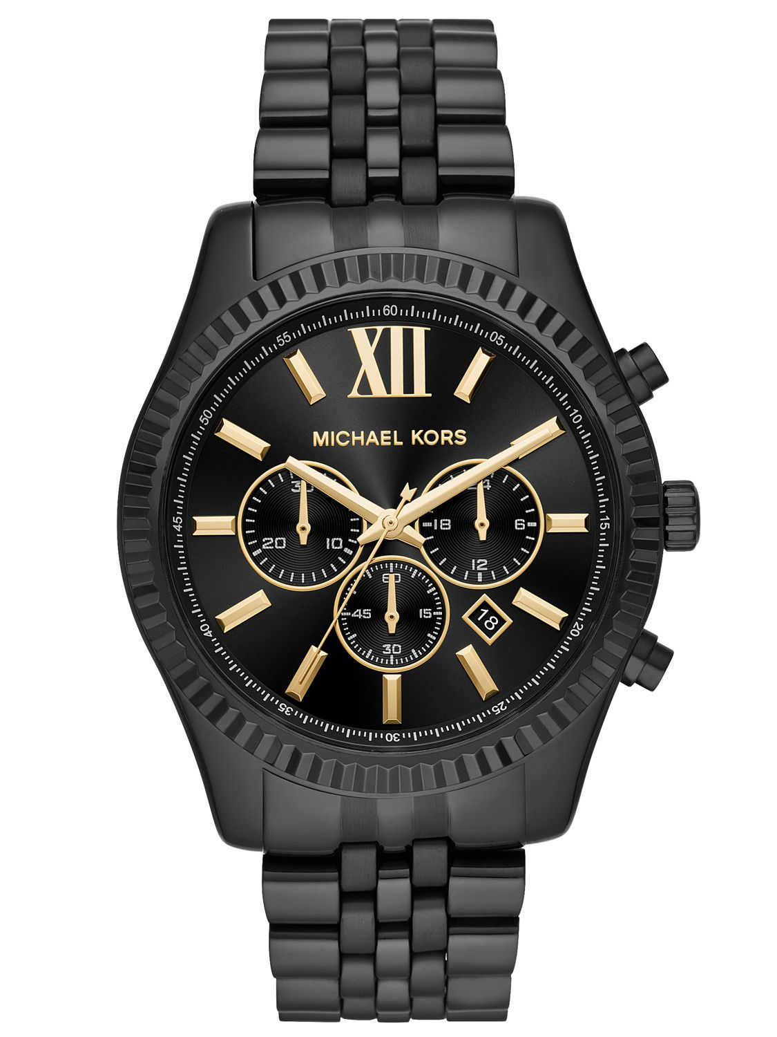 66d04f91789c Michael Kors MK8603 Mens Watch Chronograph Lexington Image 1 ...