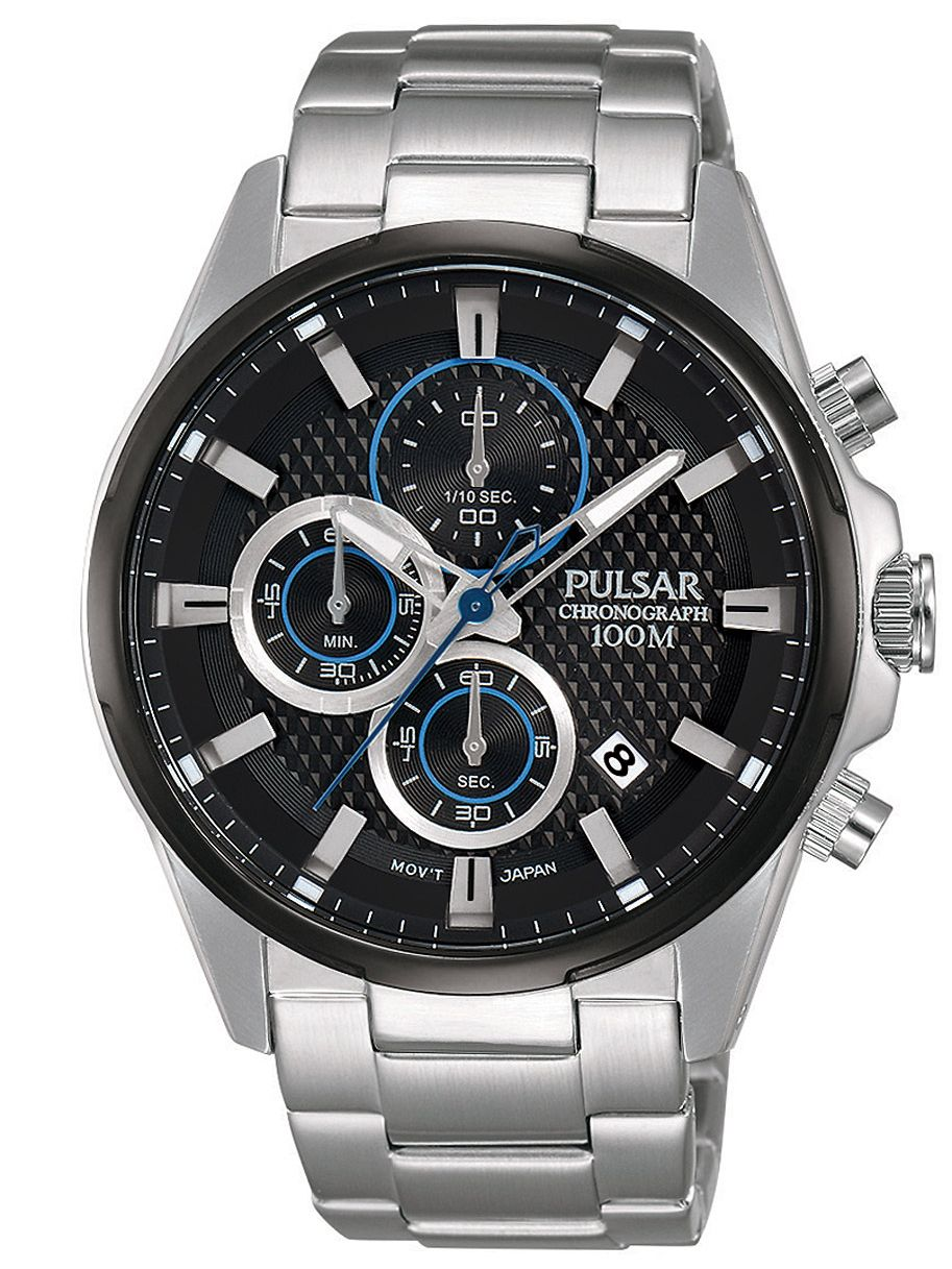 Armband- & Taschenuhren Armbanduhren Pulsar Sport Pz5091x1 Herrenchronograph