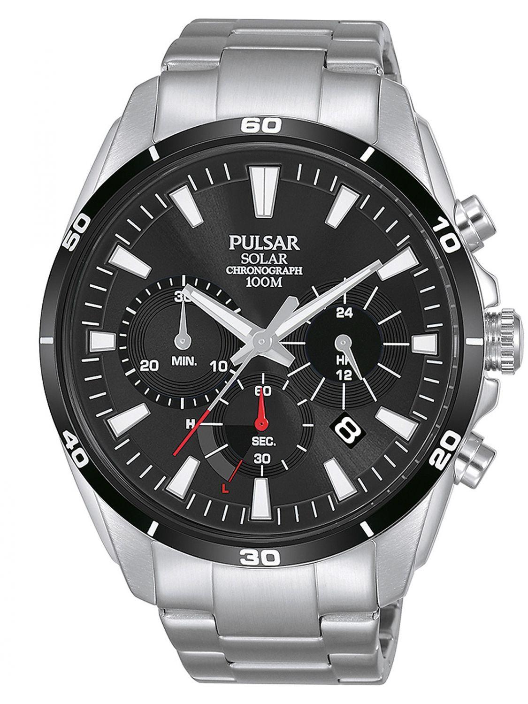 be9064ed1 PULSAR Solar Men's Watch Chronograph PZ5059X1 • uhrcenter