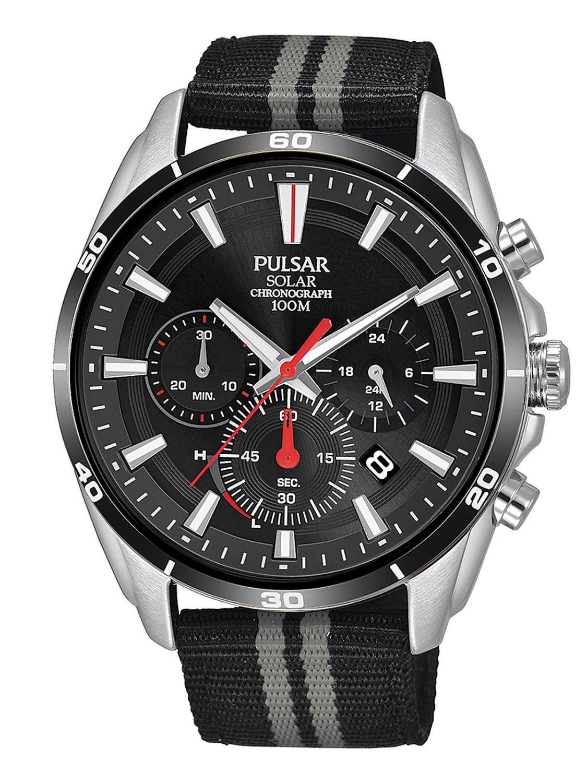 Pulsar Sport Pz5091x1 Herrenchronograph Armbanduhren Uhren & Schmuck