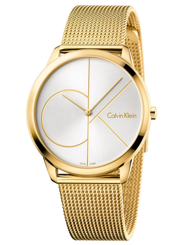 38d27671d46 Calvin Klein K3M21526 Minimal Mens Watch Image 1 ...