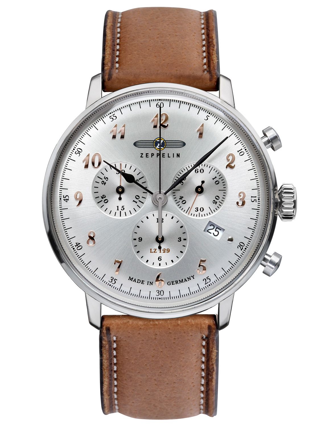 Zeppelin Mens Watch Chronograph LZ129 Hindenburg Ed. 1 7088-5