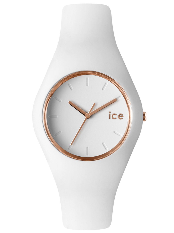 b11cbb8a113c43 Ice-Watch 000977 Glam White Rose-Gold Watch