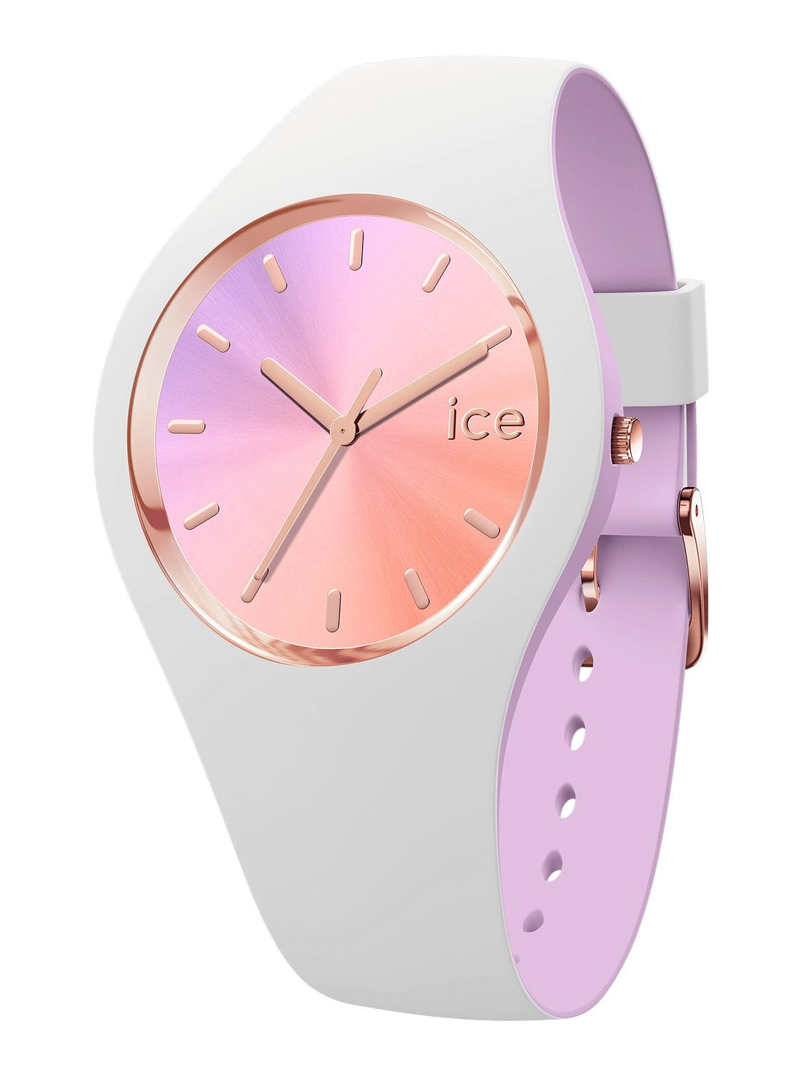 4afb0f05b93f5 ICE-WATCH Ladies´ Wristwatch Duo Chic White/Orchid S 016978