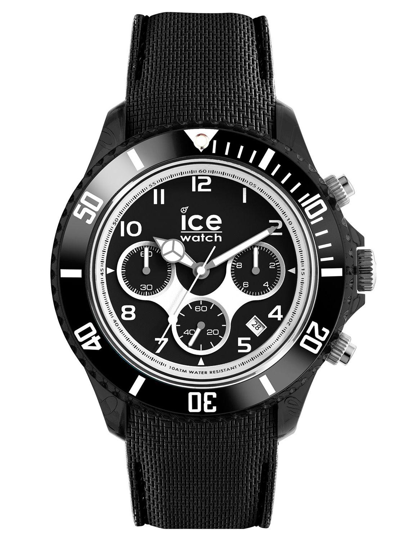 ice watch mens chronograph ice dune black xl 014222. Black Bedroom Furniture Sets. Home Design Ideas