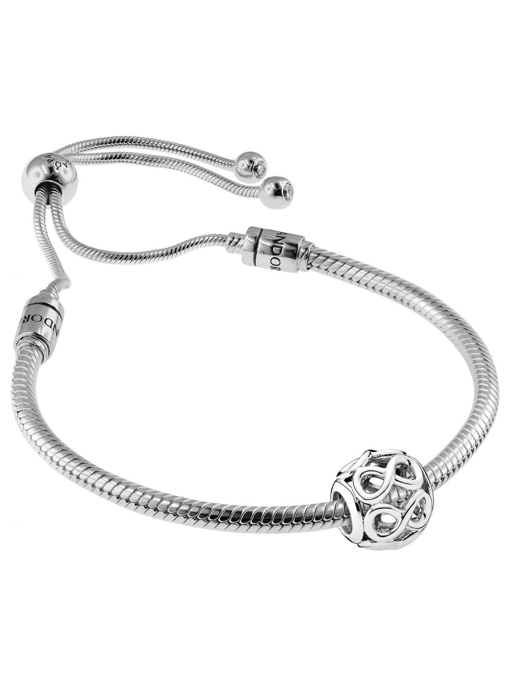 Pandora 08662 Bracelet Set Moments Sliding and Infinity Image 1 ... 08525335e