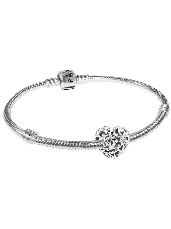 16f987ef7 Pandora 08860 Bracelet Set Regal Heart Image 1 ...