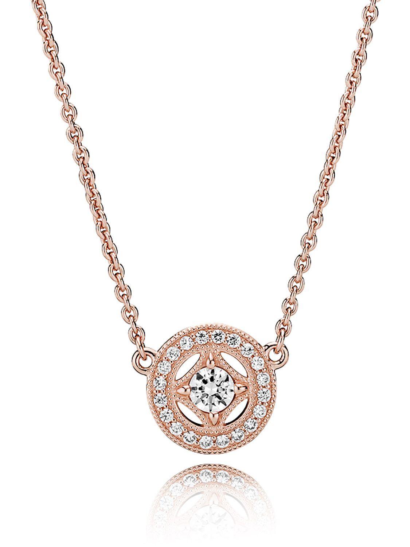0b9dd4d59 Pandora 380523CZ-45 Rose Ladies' Necklace Vintage Allure Image ...