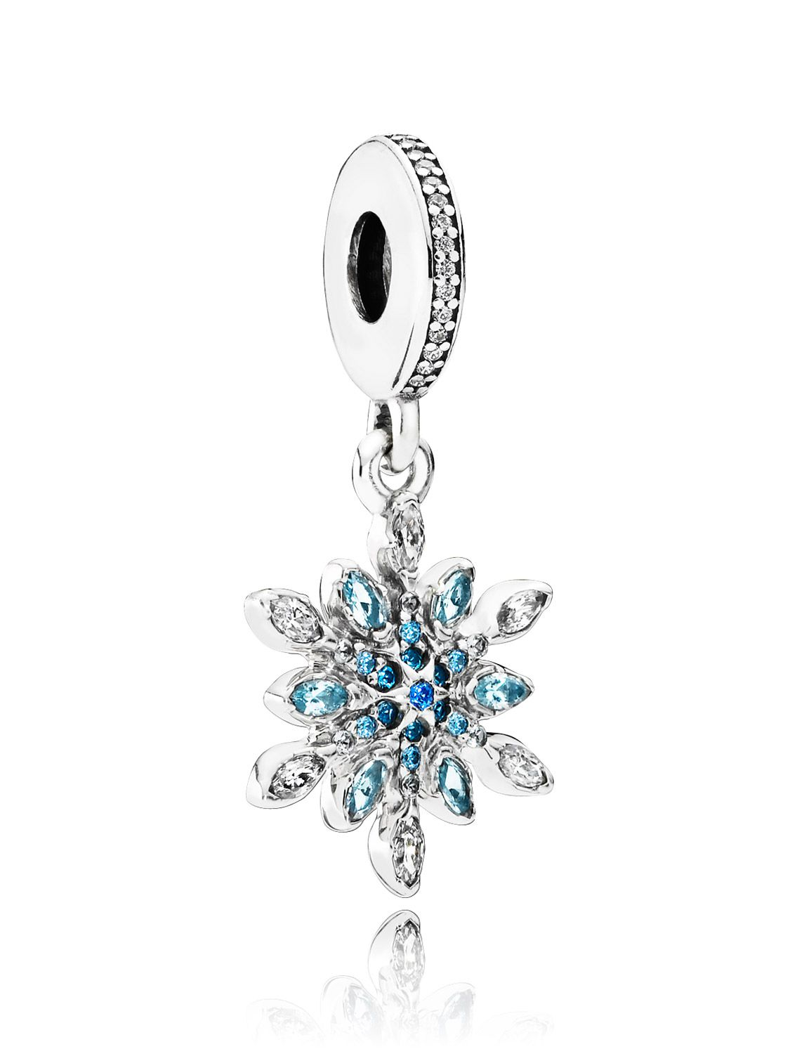 pandora charms ice crystal