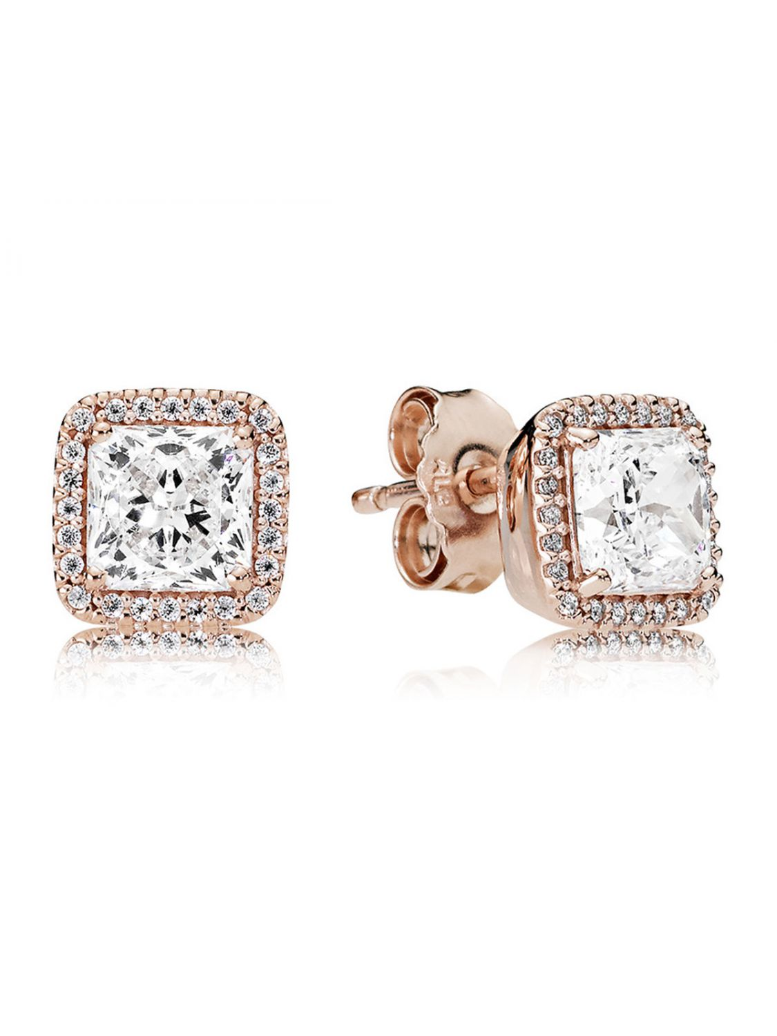 7536392a8 Pandora Elegant Beauty Stud Earrings - Image Of Earring