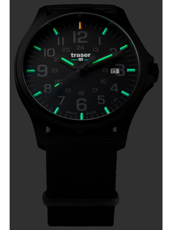 ... traser H3 107422 Mens Watch P67 Officer Pro Gun Metal Black Nato Strap  Image 4 ... a4c5ebba719