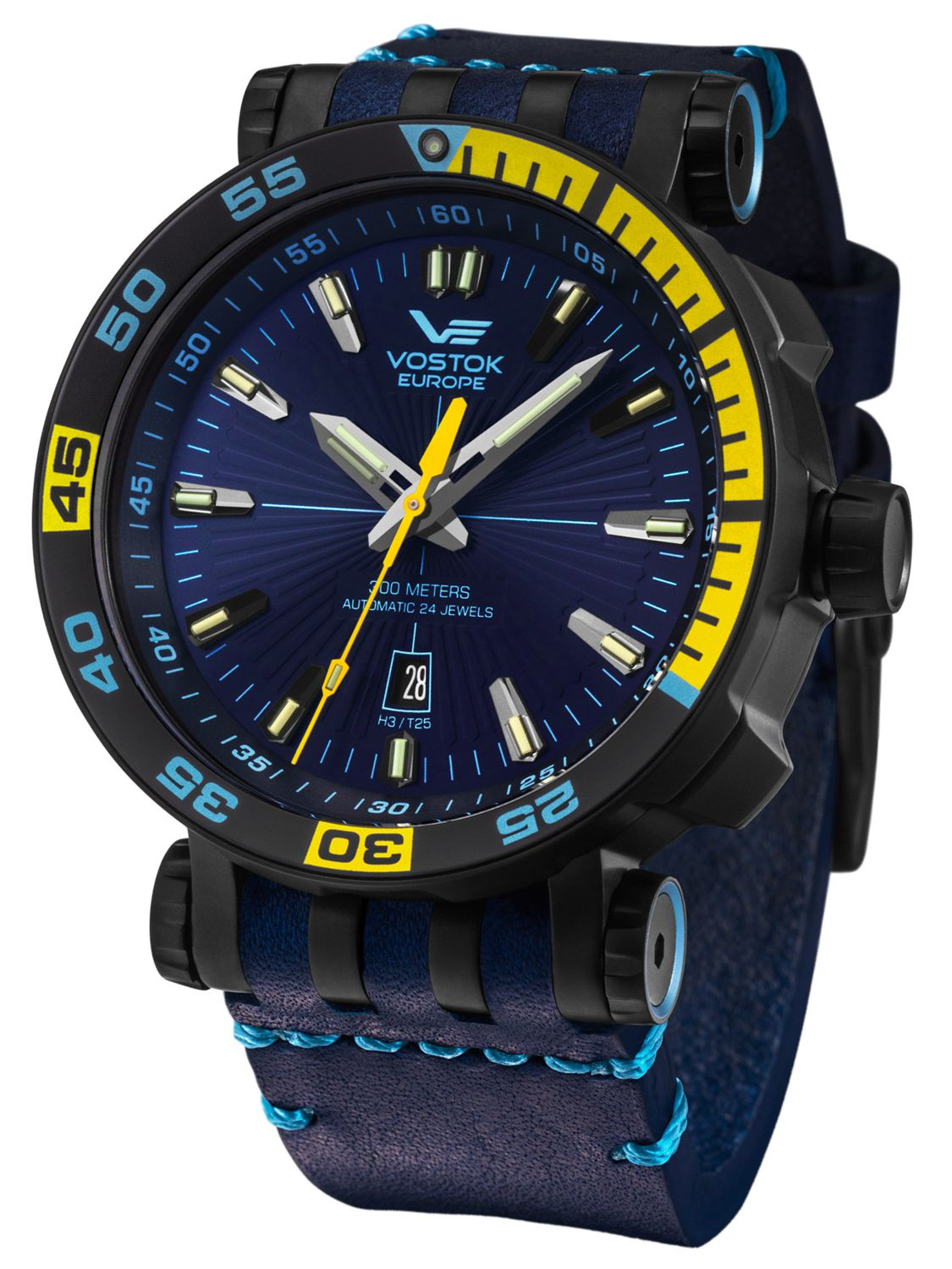 Vostok europe automatic mens watch energia rocket nh35a 575c280 for Vostok europe watches