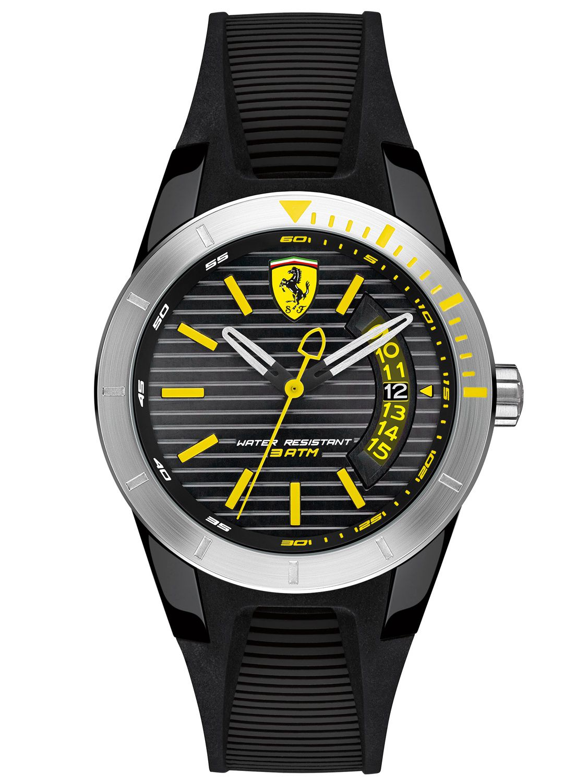 yellow scuderia aerodinamico mens ferrari image watches from watch