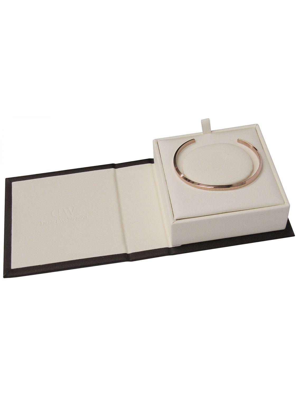 daniel wellington armreif classic cuff small ros gold. Black Bedroom Furniture Sets. Home Design Ideas