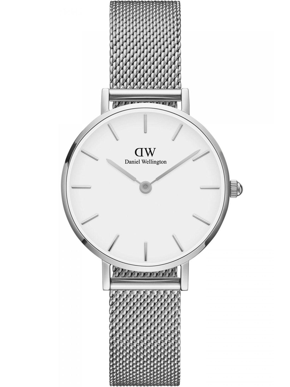 ba9990e365fbc0 Daniel Wellington DW00100220 Ladies Watch Classic Petite Sterling White 28  Image 1 ...