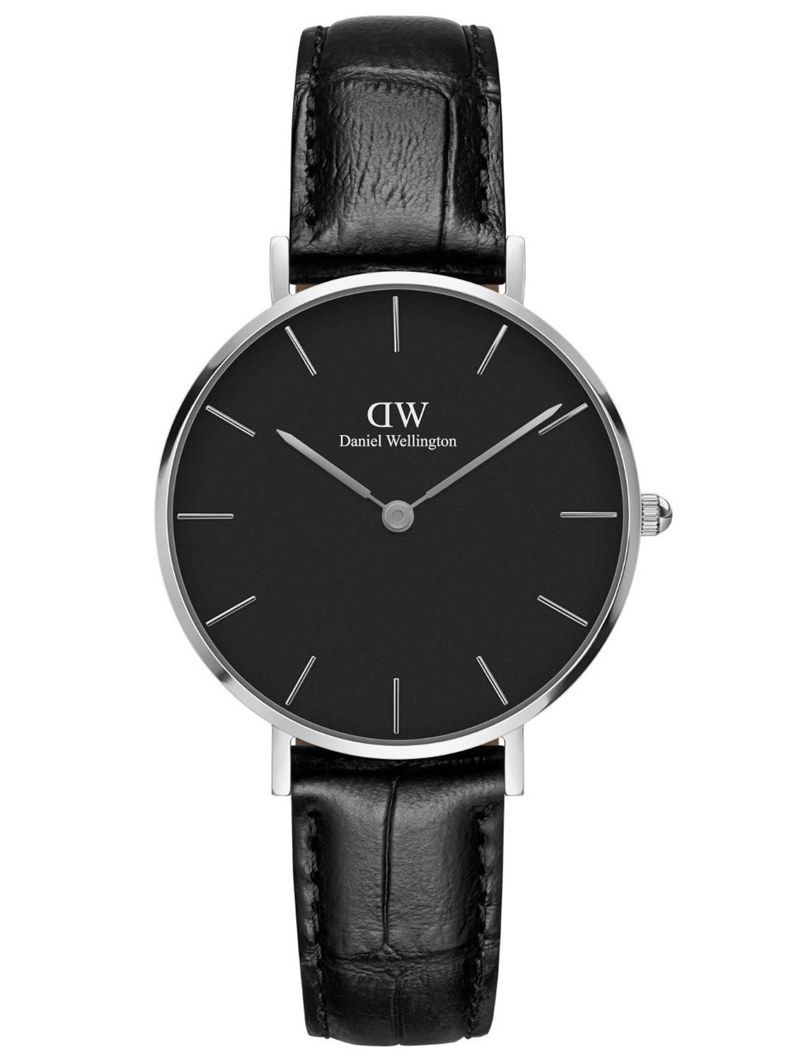 daniel wellington damenuhr classic petite reading schwarz. Black Bedroom Furniture Sets. Home Design Ideas