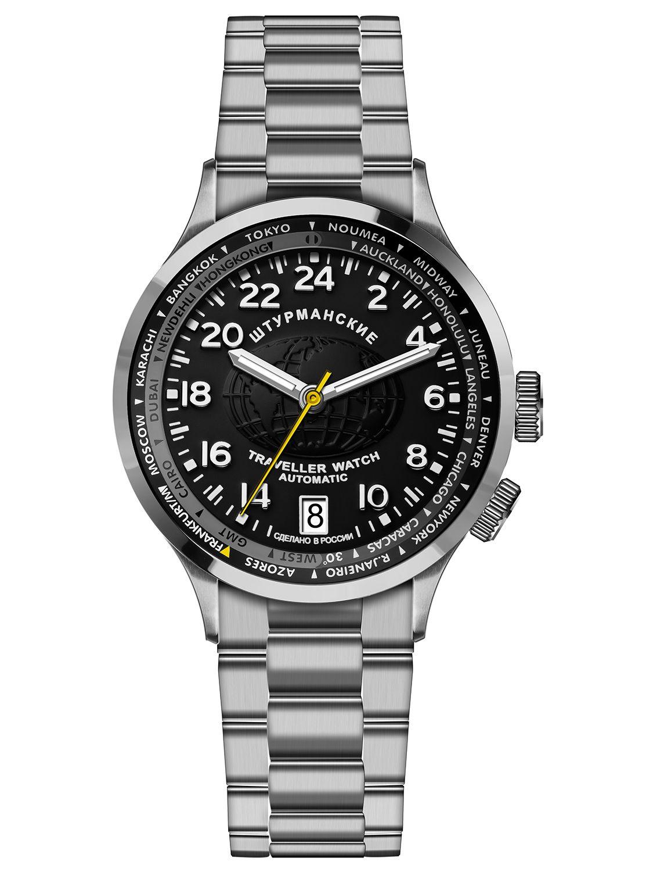 А в году юрий гагарин взял в космический полет часы этой марки.