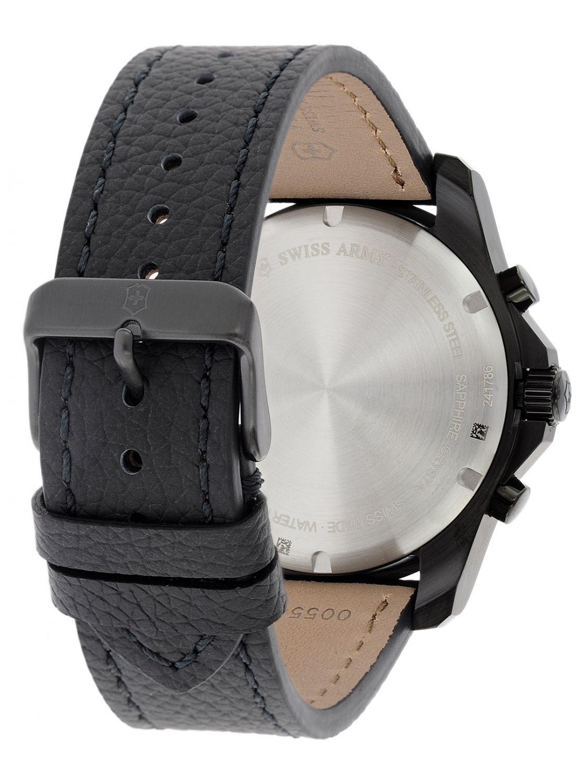49280464acb ... Victorinox 241786 Maverick Chronograph Black Edition Mens Watch Image 3  ...